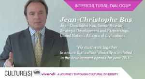 Culture(s) with Vivendi: a new testimonial by Jean-Christophe Bas