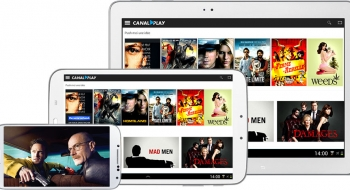 Groupe Canal+ : Canalplay sur mobile !