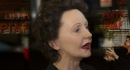 GREVIN PRESENTS EDITH PIAF FIGURE IN FRONT OF L'OLYMPIA