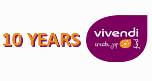 Happy anniversary, Vivendi Create Joy!