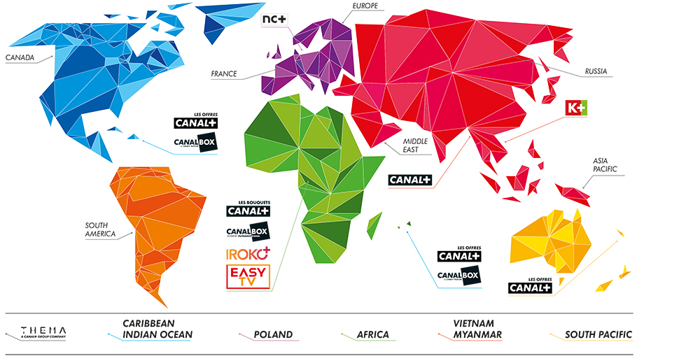 Carte Canal+ International