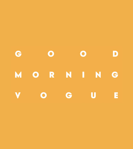 "Dailymotion will be hosting ""Good Morning Vogue"" in celebration of Fashion Week"